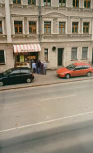 Produktionsstätte und Laden der Bäckerei ca. 1990